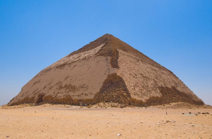 Ohnutá pyramída